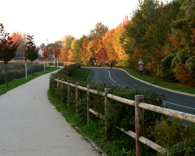 EV01 uMap Piste cyclable